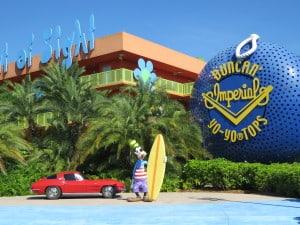 Disney's Pop Century Resort ~ photo taken by T.M. Brown