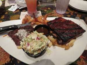 Rainforest Cafe at Disney Springs Marketplace ~ photo taken by T.M. Brown