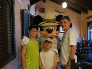 Tusker House Restaurant at Disney's Animal Kingdom ~ photo taken by T.M. Brown