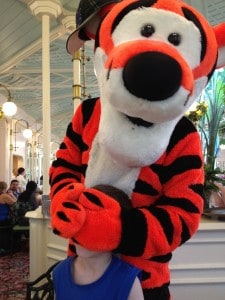 Tigger w/Aaryn at The Crystal Palace ~ photo taken by T.M. Brown