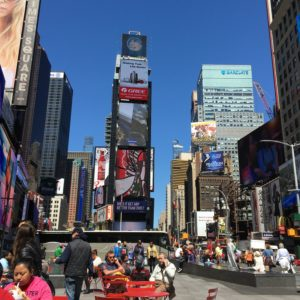 New York City, Times Square ~ photo taken by T.M. Brown, April 2016