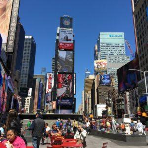 New York City, Times Square ~ photo taken by T.M. Brown, April 2016