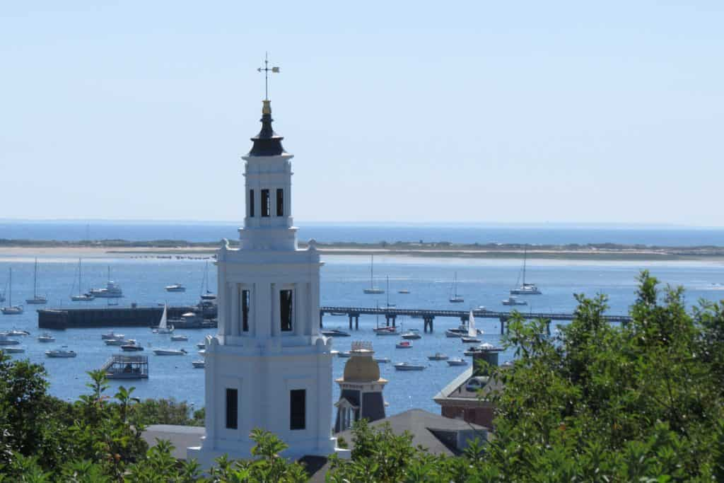 View from Pilgrim Monument ~ photo taken by T.M. Brown