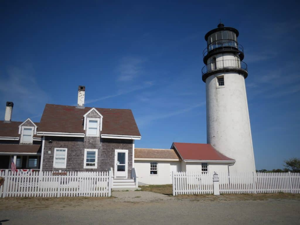 Highland (Cape Cod) Light ~ photo taken by T.M. Brown