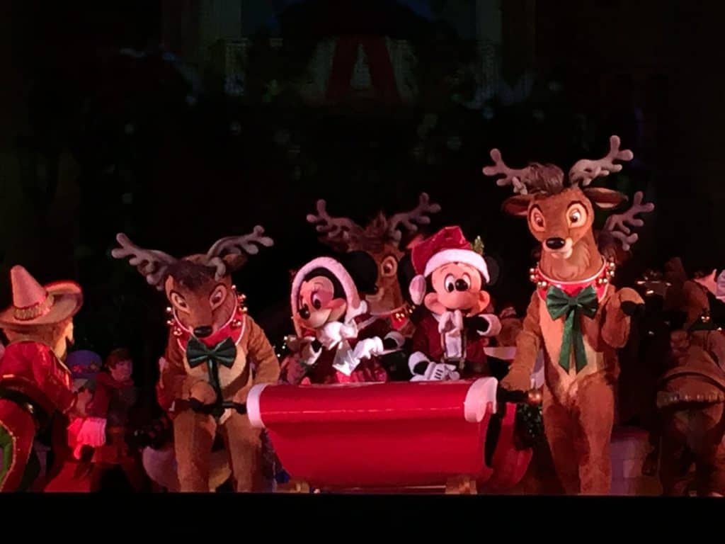 Mickey's Most Merriest Celebration on Castle Stage ~ photo taken by T.M. Brown