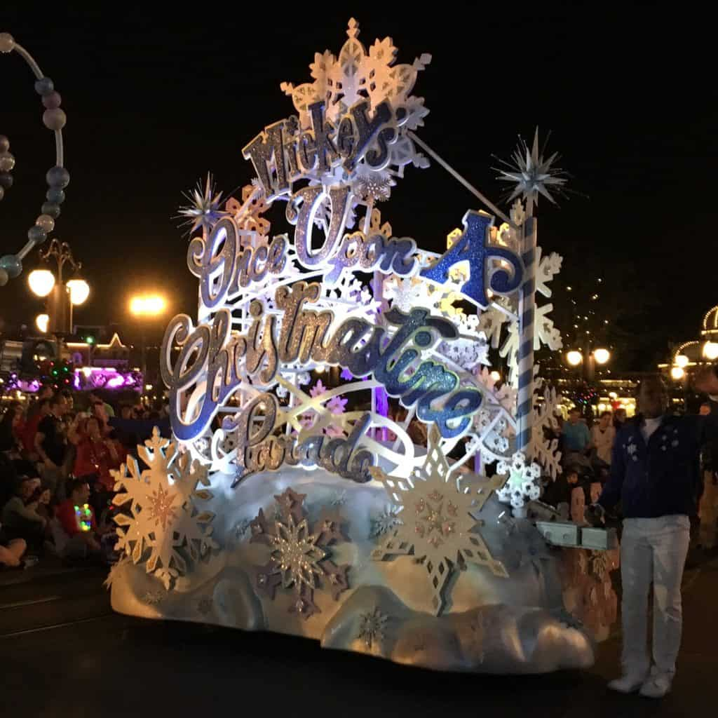 Mickey's Once Upon a Christmas Time Parade ~ photo taken by T.M. Brown