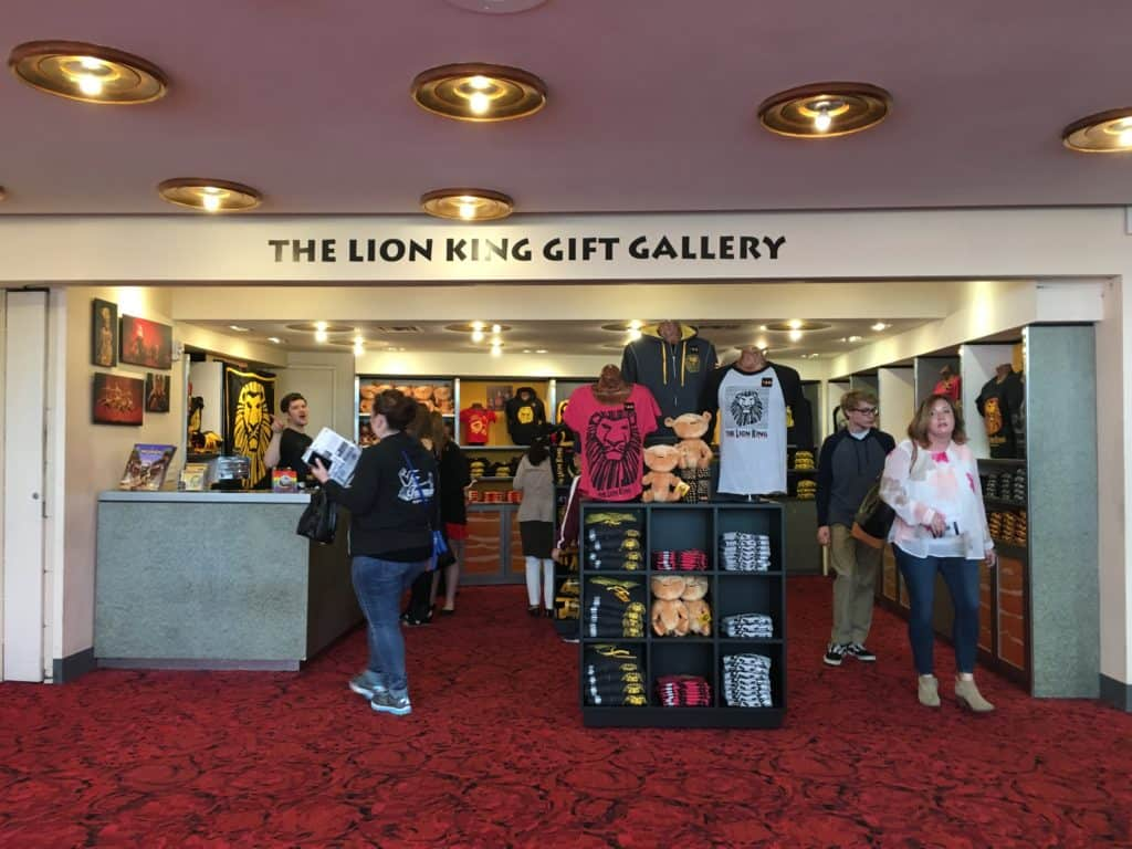 Minskoff Theater Gift Gallery: Disney's The Lion King on Broadway