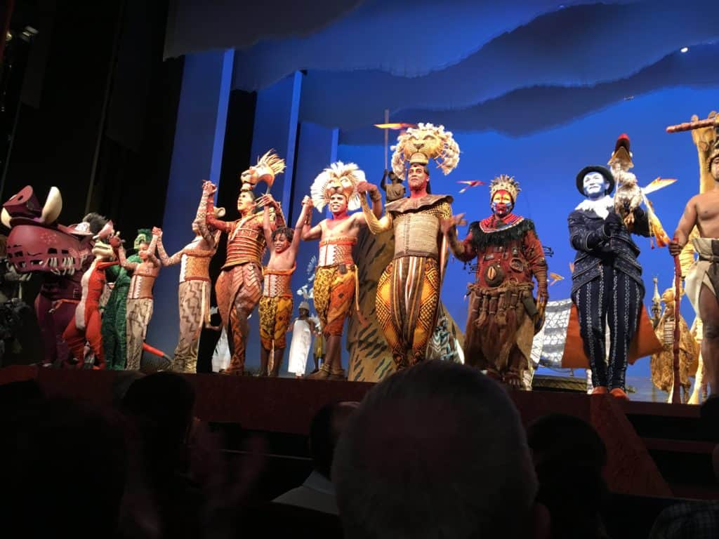 Curtain Call for Disney's The Lion King on Broadway
