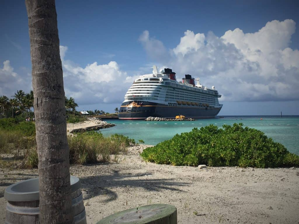 Disney Dream at Castaway Cay port