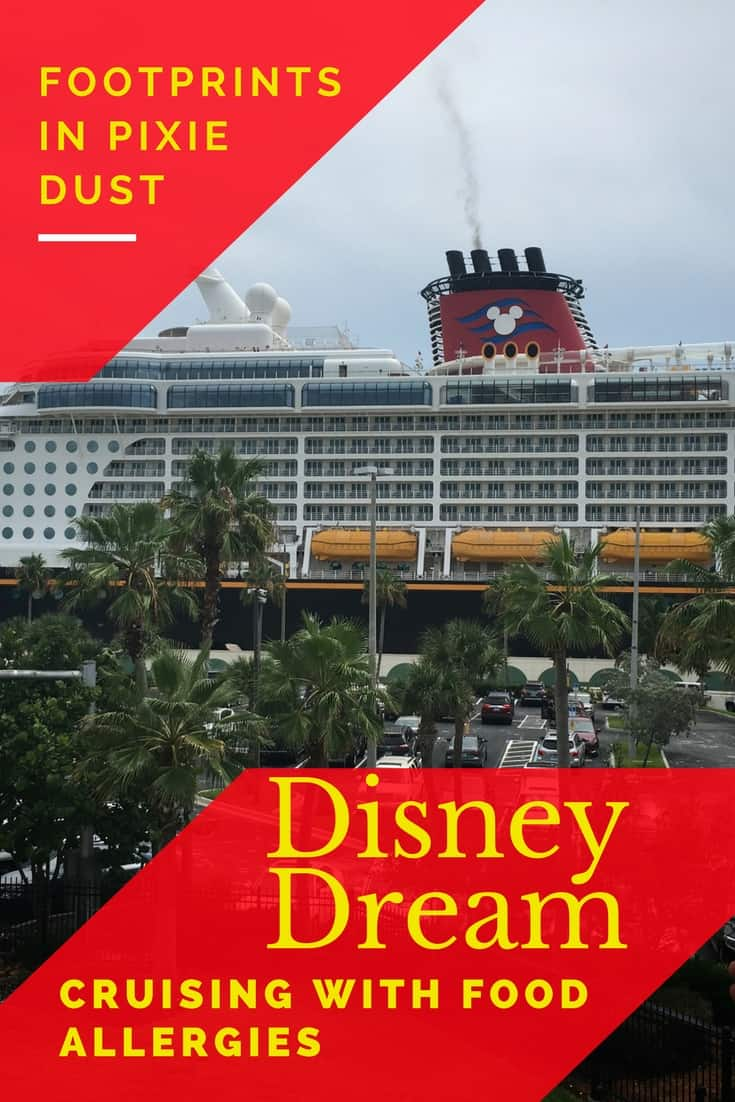Our food allergy experience while cruising with Disney Cruise Line
