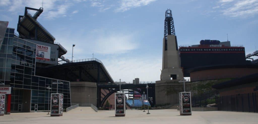 Portrait of Gillette Stadium