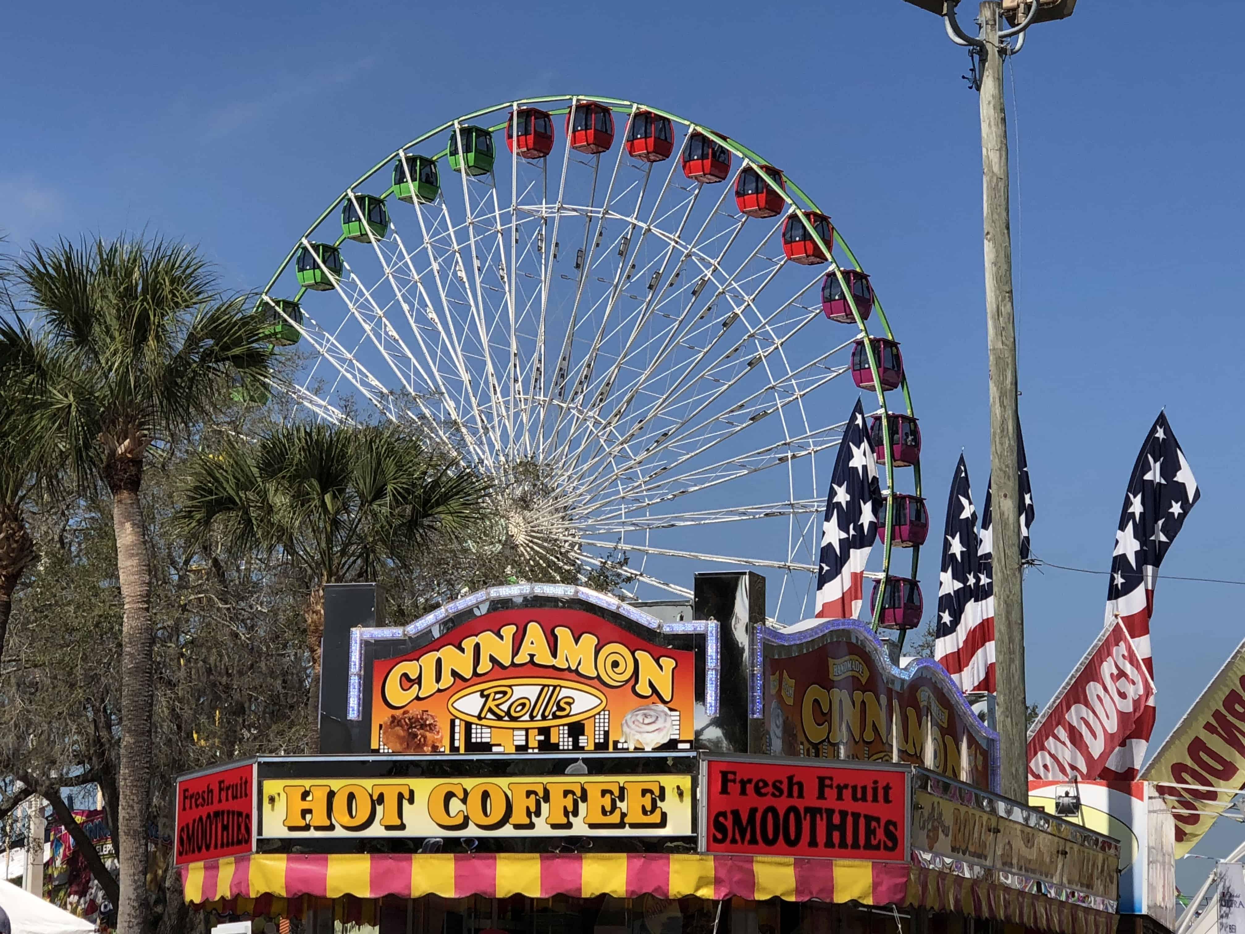 Florida State Fair Ferris wheel