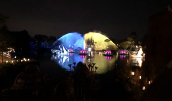 Disney's Animal Kingdom's Rivers of Light performance