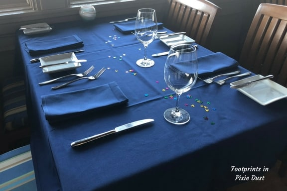 Narcoossee's table setting