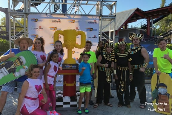 The Five Teams involved in The Great LEGO Race at LEGOLAND Florida