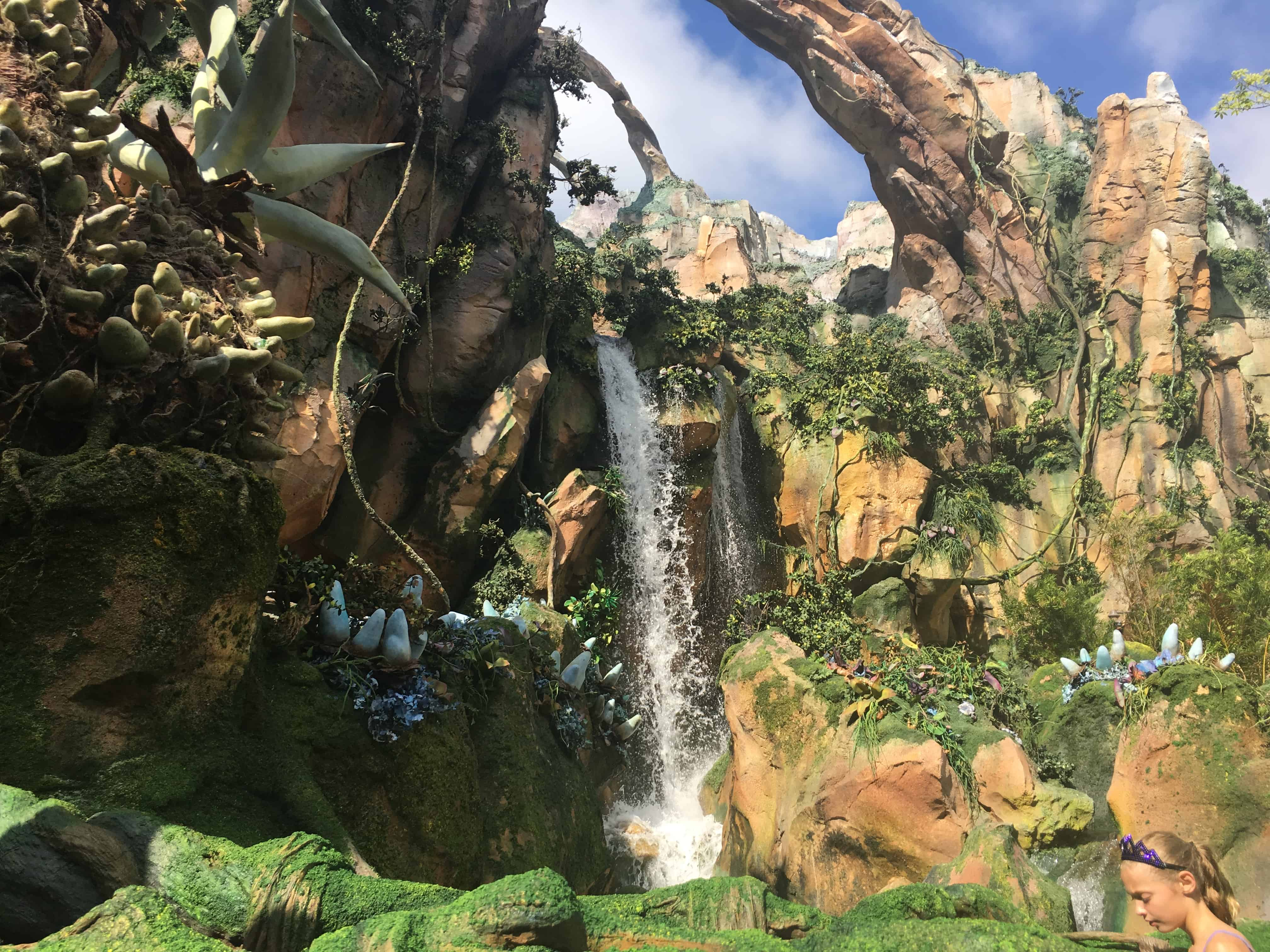 waterfall, Avatar: Flight of Passage