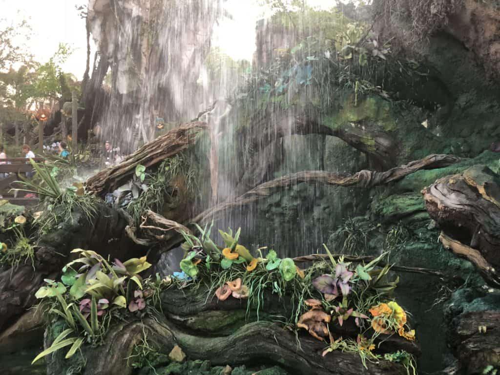 waterfall, Pandora, Disney's Animal Kingdom