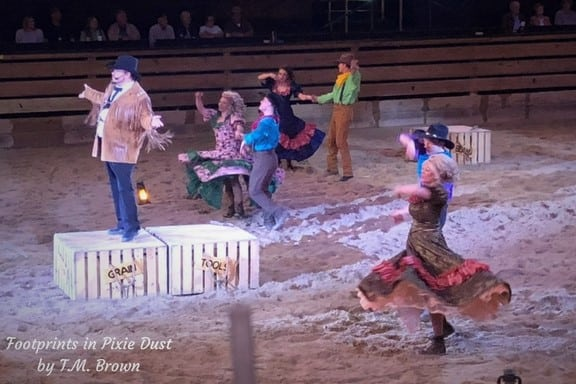 Performers during Dolly Parton's Stampede Dinner Attraction