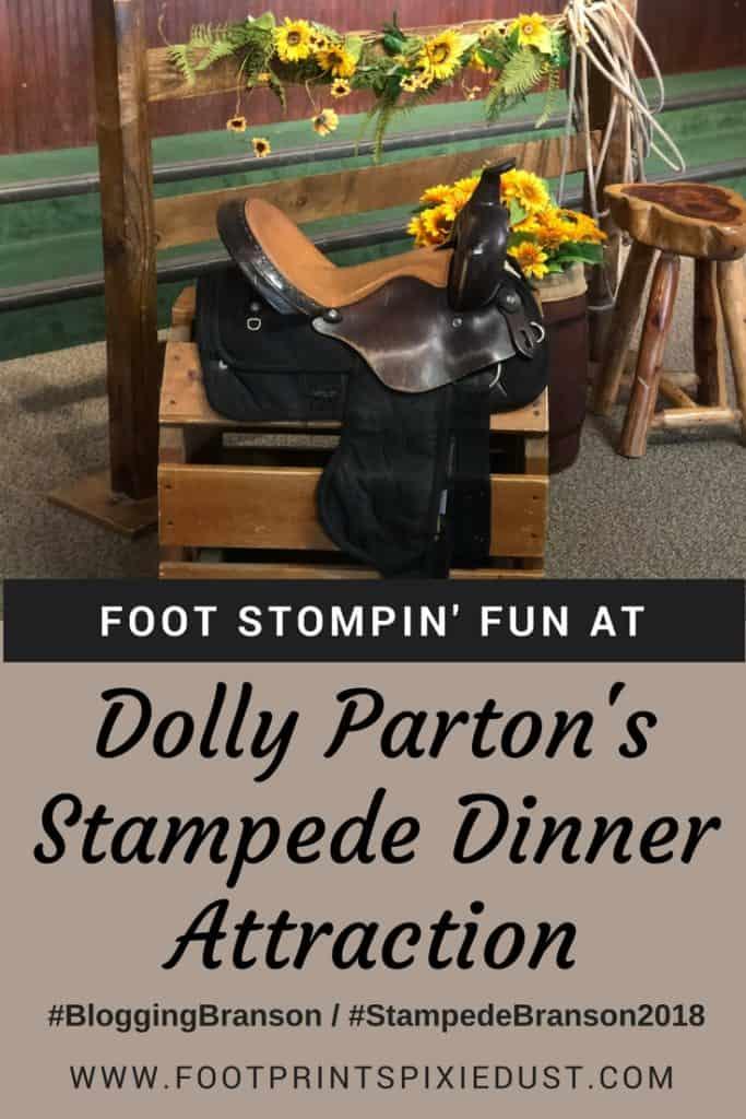 Dolly Parton's Stampede Dinner Attraction: #BloggingBranson #StoneCastleFun #StoneCastlePartner #StampedeBranson2018 #BBcousins #footprintsinBranson #travel #vacation #Branson #Ozarks #Missouri #horses #dinnerattraction #dinnershow #familyfun #familytravel