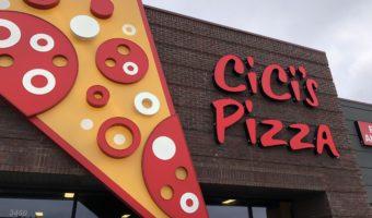 The World's Largest Cici's Pizza in Branson, MO: #BloggingBranson #StoneCastleFun #BBcousins #WorldsLargestCicisPizza #sponsored #footprintsinBranson