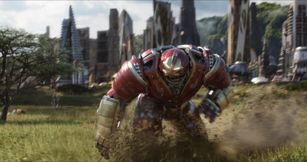 Hulkbuster on Avengers: Infinity War; photo courtesy of Walt Disney Studios