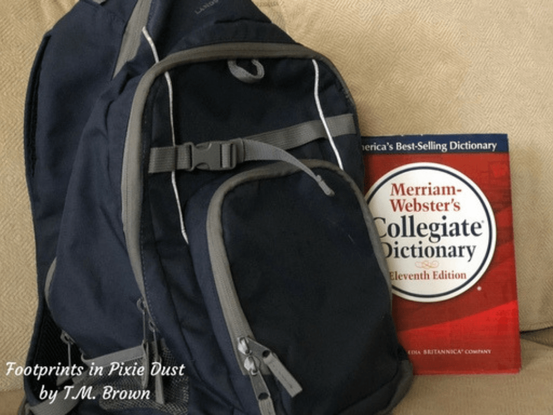 Skipping The Grade_Backpack and dictionary