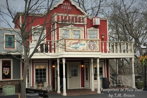 Building at Silver Dollar City that was used on the TV show The Beverly HIllbillies