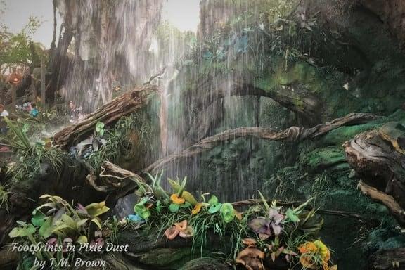 Waterfall in Pandora: The World of Avatar at Disney's Animal Kingdom