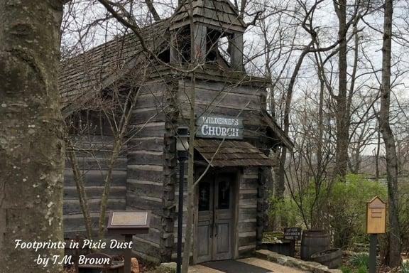 Old church at Silver Dollar City
