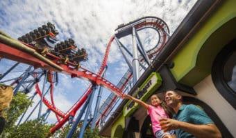 Roller Coaster at SeaWorld