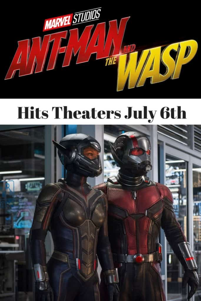 Ant-Man and the Wasp Coming to Theaters July 6th: #AntManAndWasp #MarvelStudios #movie #WaltDisneyStudios #PaulRudd #EvangalineLilly #MichaelDouglas