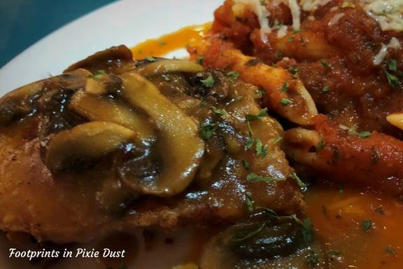 Chicken Marsala at Florentina's Ristorante Italiano in Branson, Missouri