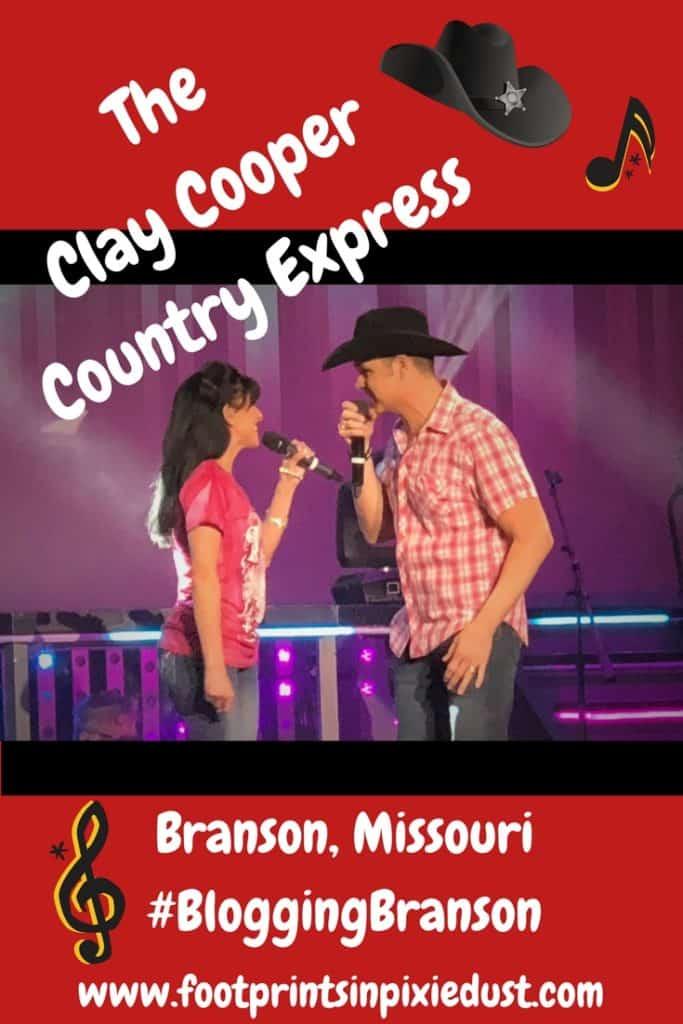 Clay Cooper Country Express: #BloggingBranson #ClayCooper2018 #StoneCastlePartner #BBcousins #footprintsinBranson #Branson #entertainment #musicalreview #travel #vacation #familytravel #family #travelblogger