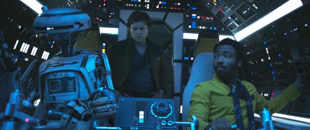 Cast aboard the Millenium Falcon