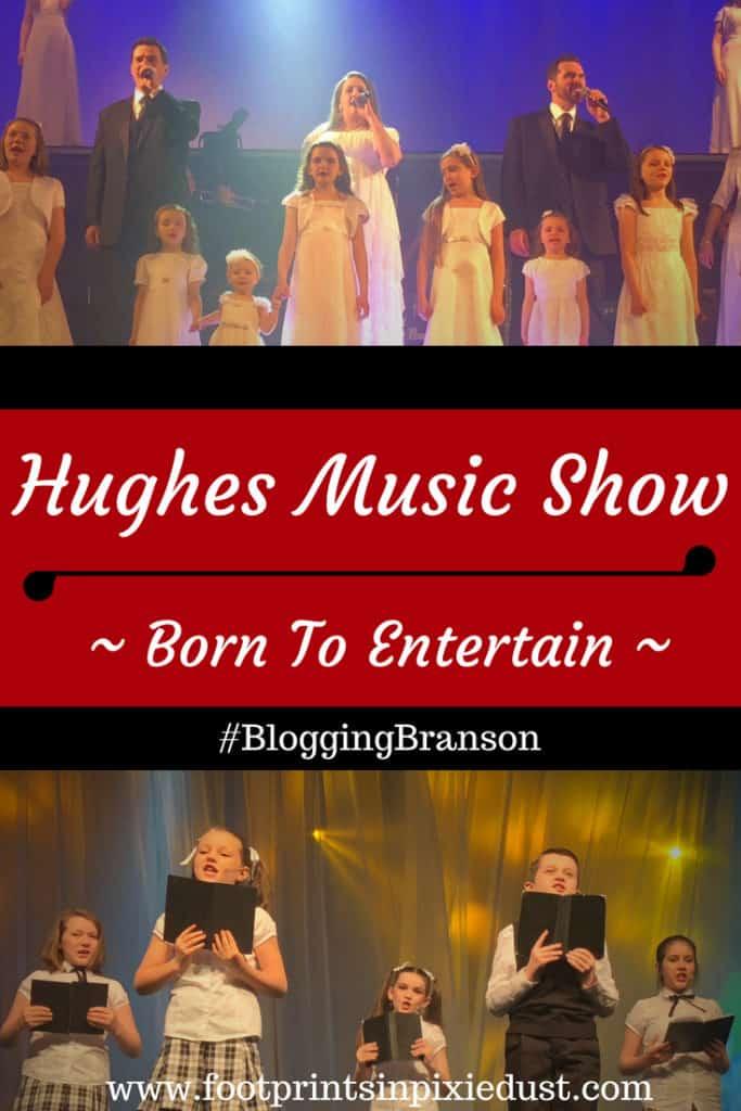 Hughes Music Show: #BloggingBranson #HughesMusicBranson #StoneCastlePartner #BBcousins #footprintsinBranson #Branson #entertainment #travel #vacation #familyentertainment #familytravel #family #showbiz #talent