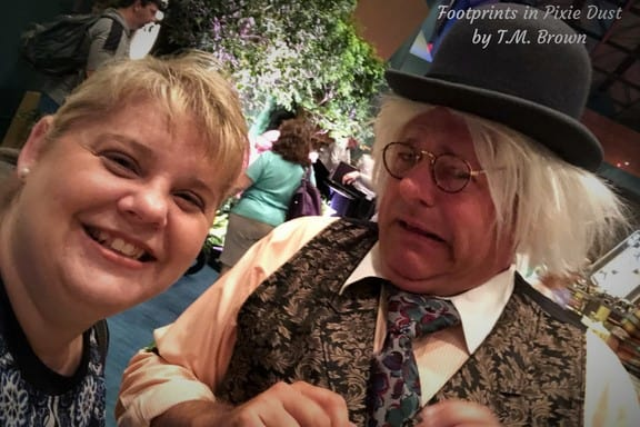 Mad Hatter's Bookkeeper at Disney Vacation Club's Mother's Day Brunch