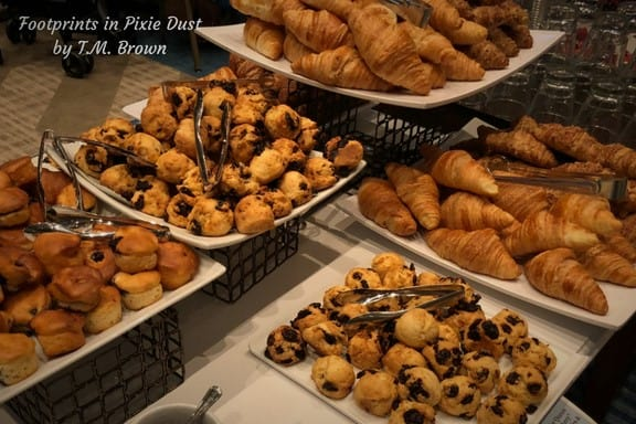 Pastries at Disney Vacation Club's Mother's Day Brunch