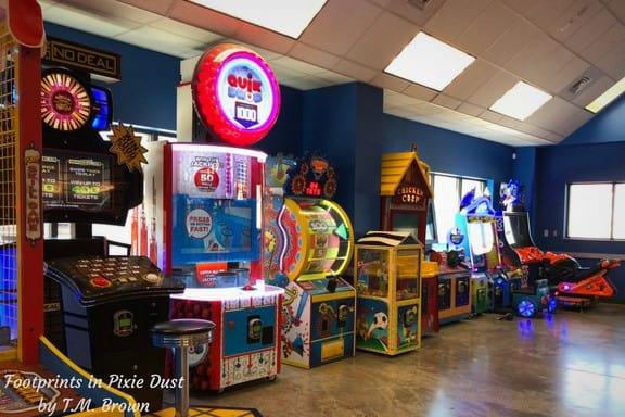 The Track Family Fun Park arcade