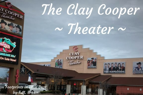 Front of Clay Cooper Theater in Branson, Missouri