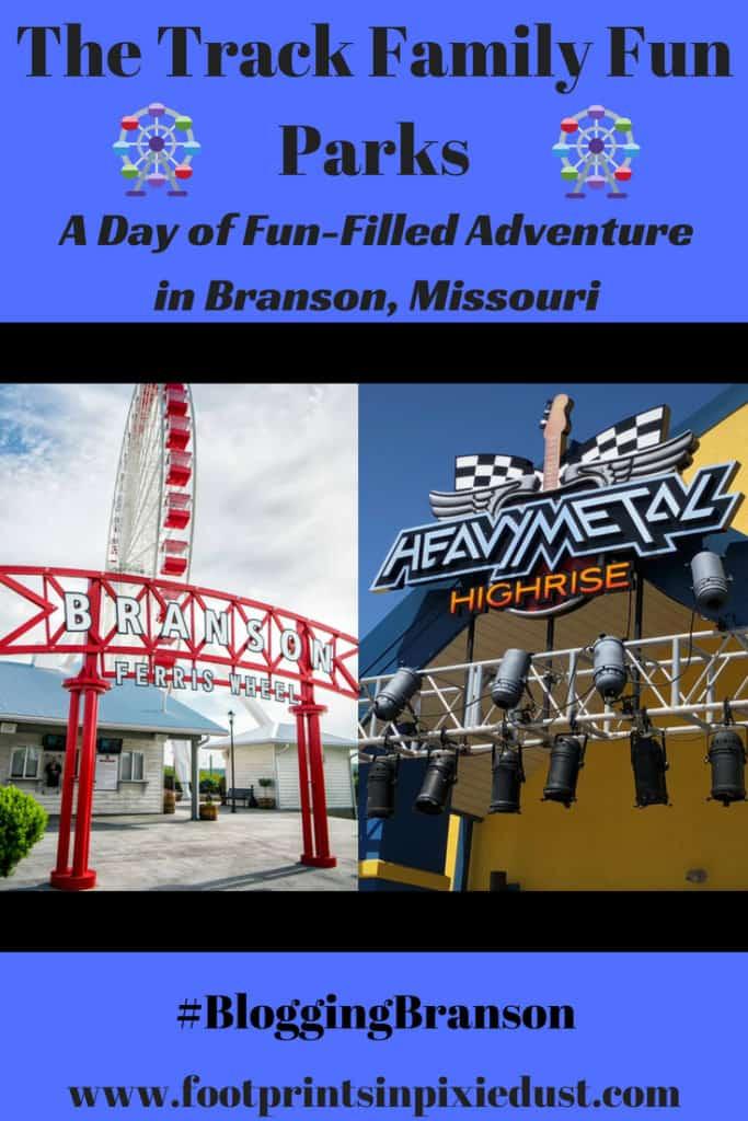 The Track Family Fun Park in Branson, Missouri: #BloggingBranson #StoneCastlePartner #bransontracks2018 #BBcousins #footprintsinBranson #familytravel #funpark #gokarts #ferriswheel #Branson #exploreBranson #vacation #family