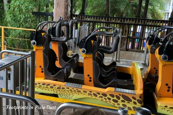 Cheetah Hunt coaster at Busch Gardens Tampa Bay