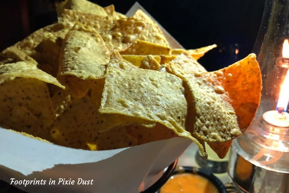 Chips at San Angel Inn at Epcot
