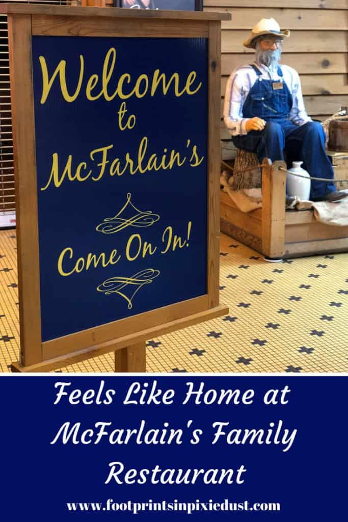 McFarlain's Family Restaurant: #BloggingBranson #StoneCastlePartner #McFarlainsDinner #BBcousins #footprintsinBrandon #exploreBranson #Branson #food #homecooking #friedgreentomatoes #yum #travel #travelblogger #Ozarks #cuisine