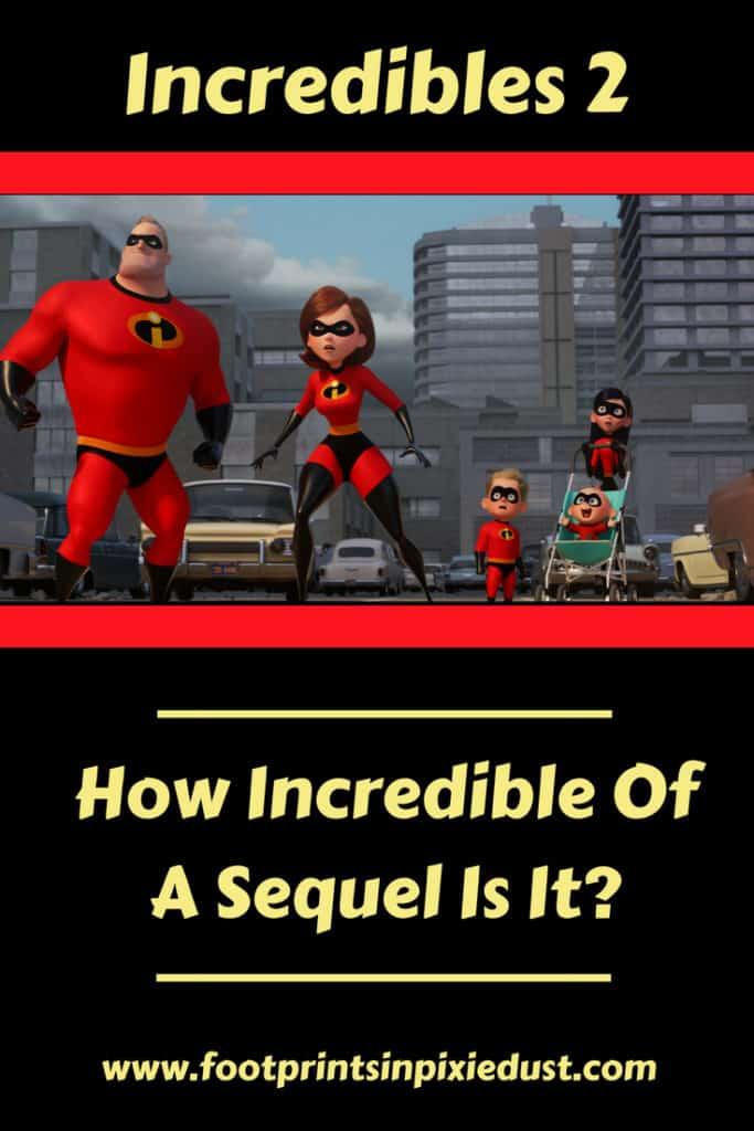 Incredibles 2 Review: #Incredibles2 #movie #review #moviereview #fpipd #Pixar #WaltDisneyPictures #superheroes #JackJack #MrIncredible #Elastigirl