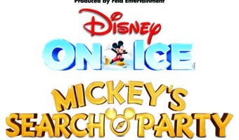 Signage for Disney On Ice Mickey's Search Party
