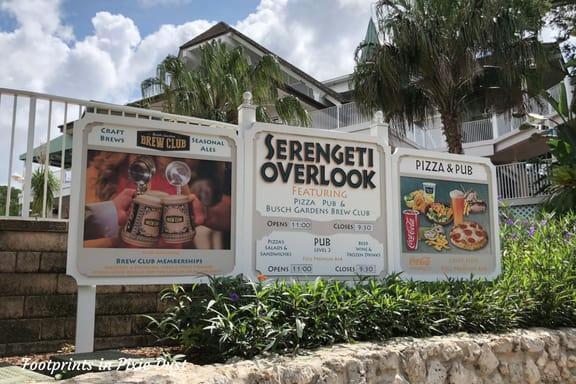 Serengeti Overlook Restaurant at Busch Gardens Tampa Bay