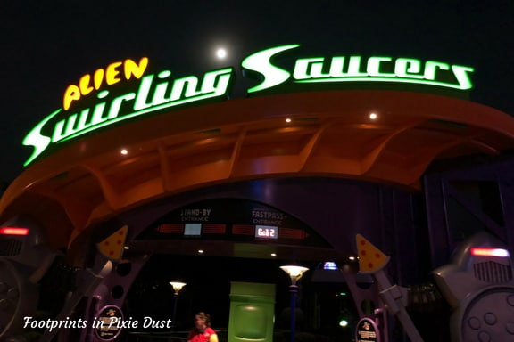 Alien Swirling Saucers ~ Photo credit: Tina M. Brown