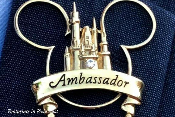 WDW Ambassador Pin ~ Photo credit: Tina M. Brown