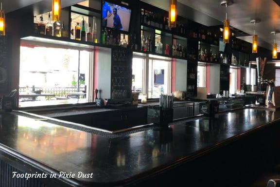 Bar area at Marlow's Tavern ~ photo credit: Tina M. Brown