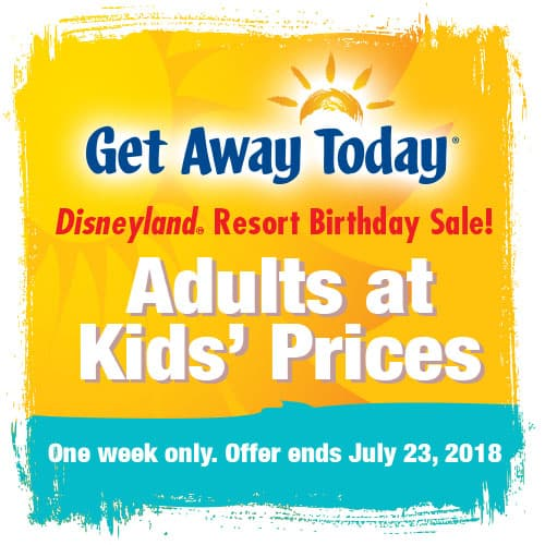 Get Away Today link for Adults at Kids' Prices sale